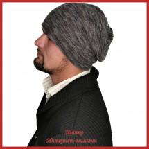 Мохеровая теплая шапка Альваро
