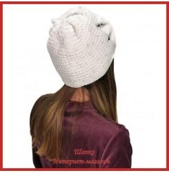 Вязаная шерстяная шапка Бинди