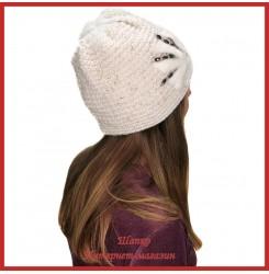 Вязаная шерстяная шапка Бинди 1
