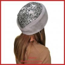 Норковая шапка Божале Модерн 4