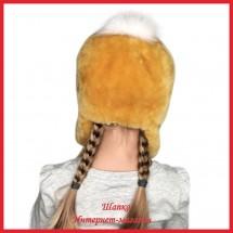 Меховая шапка Цыпа для детей