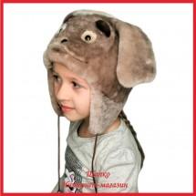 Меховая зверошапка Дружок 1 для детей