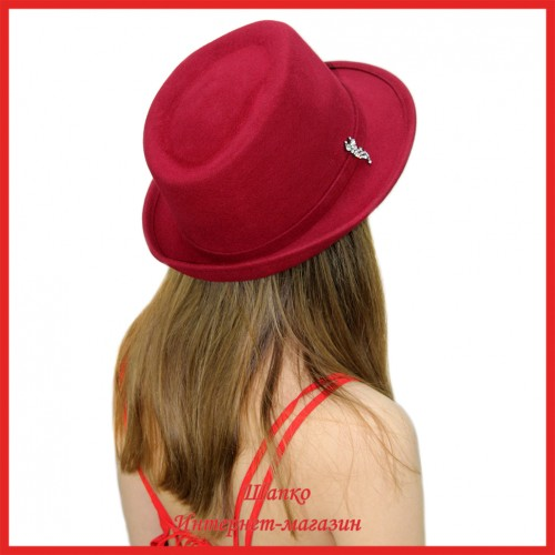 Шляпа Федора Лайт 1 из фетра