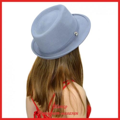 Шляпа Федора Лайт 2 из фетра
