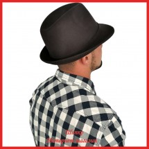 Мужская фетровая шляпа Федора 1