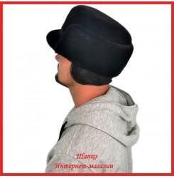 Формованная кепка Илларион из нерпы