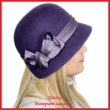 Шляпка Жесси 1 из фетра