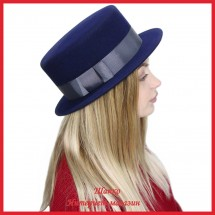 Шляпа Канотье из фетра