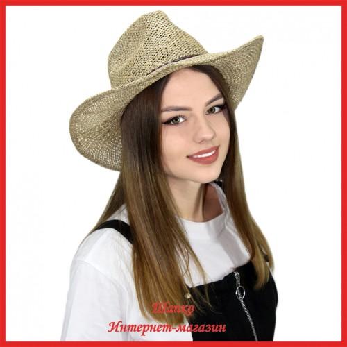 Ковбойская шляпа Кэмел