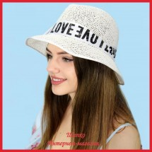 Шляпа Лавели из рисовой соломки