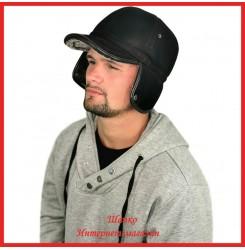 Мужская кепка Лаврентий из экомеха