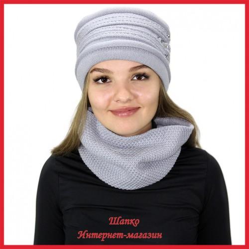Комплект Лаврина 4 (шапка, снуд)