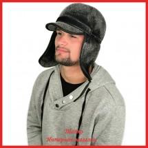 Мужская кепка Леон из аналога нерпы