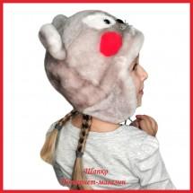 Зимняя детская шапка Леопольд