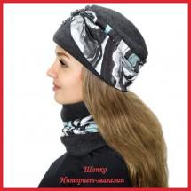 Комплект Леслия 2 (шапка, снуд)