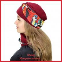 Комплект Леслия 6 (шапка, снуд)