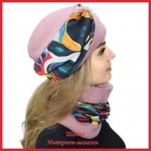 Комплект Леслия 7 (шапка, снуд)