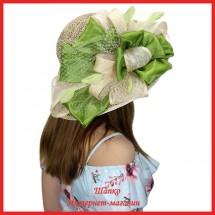 Шляпа Лилиона из рисовой соломки