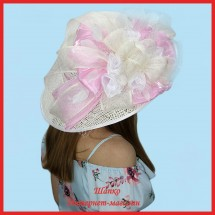 Шляпа Литти из рисовой соломки