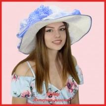 Шляпа Лойс из рисовой соломки