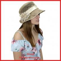 Шляпка Маджида из рисовой соломки