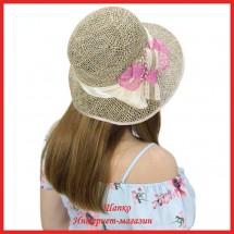 Шляпа Маджия из рисовой соломки