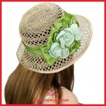 Шляпа Магита из рисовой соломки