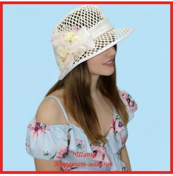 Шляпка Максимилиана из рисовой соломки