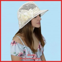 Шляпа Манчжурия из рисовой соломки