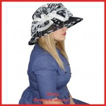 Шляпа Маришка из синамей