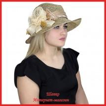 Шляпа Марула из рисовой соломки