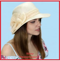 Шляпа Майсара из пальмовой соломки