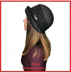 Драповая шляпка Меженда
