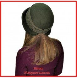 Драповая шляпка Меженда 2