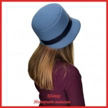 Шляпка Мелиста из драпа