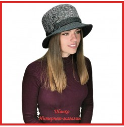 Драповая шляпа Мередит
