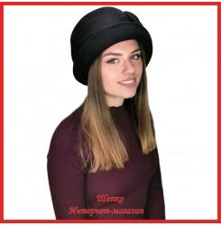 Драповая шляпка Мериджейн