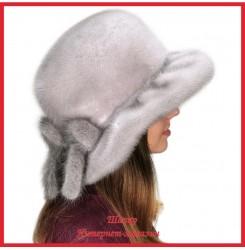 Норковая шляпа Мичико Сапфир