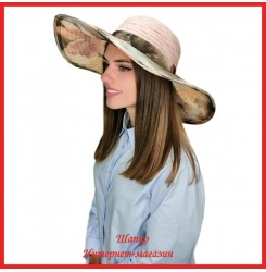 Легкая шляпа Мильда 3 с широкими полями