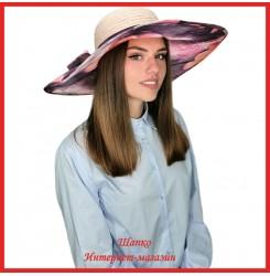 Легкая шляпа Мильда 4 с широкими полями