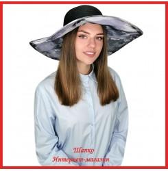 Легкая шляпа Мильда с широкими полями