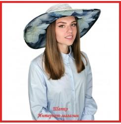 Легкая шляпа Мильда 1 с широкими полями