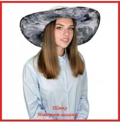 Легкая шляпа Мильда 2 с широкими полями