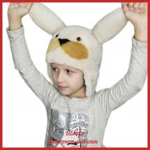 Детская шапка Милый Зайка
