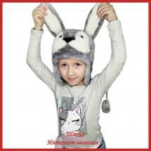 Детская шапка Милый Зайка 1