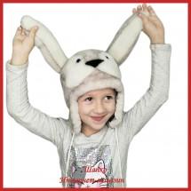 Детская шапка Милый Зайка 2