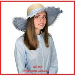 Легкая летняя шляпа Милочка