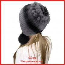 Шапка Мингуль 4 из кролика