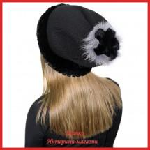 Трикотажная шапка Мирана с кроликом
