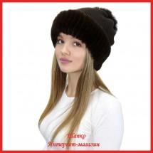 Трикотажная шапка Мирана 2 с кроликом